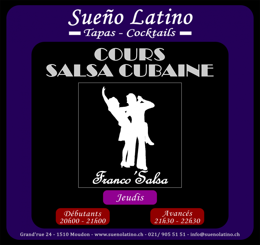 Cours Salsa Cubaine