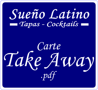 Etiquette Carte Take Away