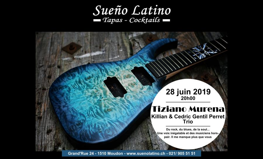 TIZIANO MURENA, Killian & Cedric Gentil Perret Trio